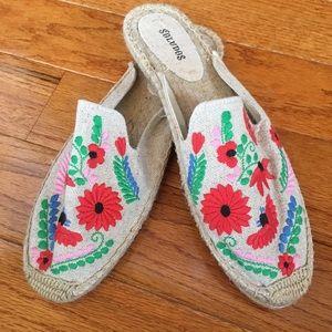 Shoes - Brand new Soludos espadrilles!